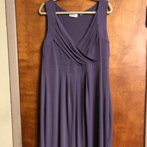 Avenue Sleeveless Light Purple Dress Size 18/20